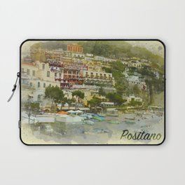 Positano Coastline Laptop Sleeve