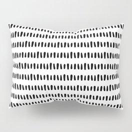 Bold Pattern Black and White Pillow Sham