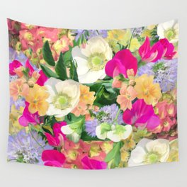 English Country Garden Wall Tapestry