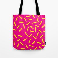 bugs Tote Bags featuring bugs by very giorgious