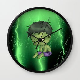 Chibi Hulk Wall Clock