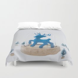 Oh deer, it's Christmas already! Duvet Cover