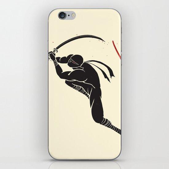 Ninja! Heads will roll! iPhone & iPod Skin