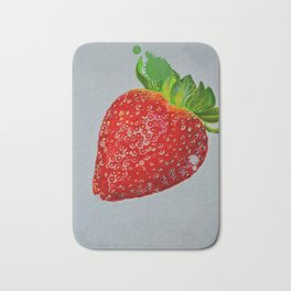 """berry nice"" Bath Mat"