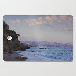 Blue Evening On Crete Cutting Board