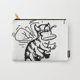 Vanguard of the Viking Ape-Bee Raiding Party Carry-All Pouch