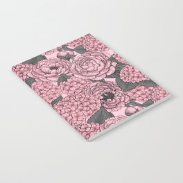 Floral bouquet in pink Notebook