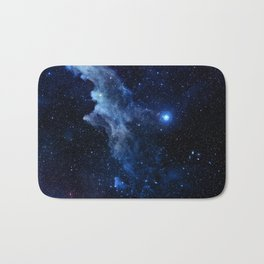 Galaxy - Witch Head Nebula Bath Mat