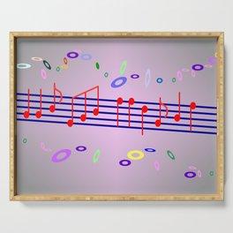 Five Dollar Art - Musik Serving Tray