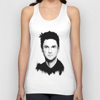 dave grohl Tank Tops featuring DAVE by Amanda Mocci