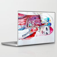the national Laptop & iPad Skins featuring  Bulgarian national costume by Slaveika Aladjova
