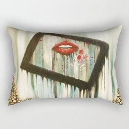 'False Perception' Rectangular Pillow