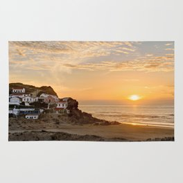 Sunset on the Costa Vicentina, Portugal Rug