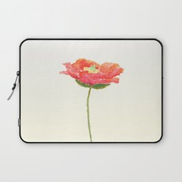 red poppy Laptop Sleeve