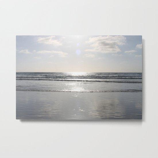 Down by the ocean Metal Print