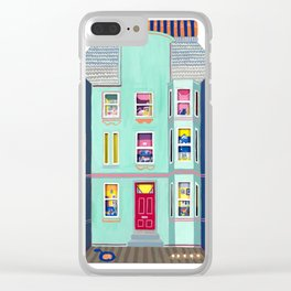 Tenement Life Clear iPhone Case