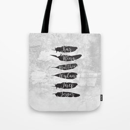 The Dregs - Six Of Crows Tote Bag