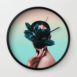 FACE PLANT Wall Clock