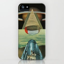 Saturn Rising iPhone Case