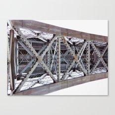 Bridge over the River Douro Canvas Print