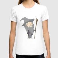 gandalf T-shirts featuring Gandalf the grey by Rod Perich