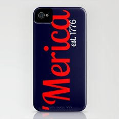 Thankful for 'Merica Slim Case iPhone (4, 4s)