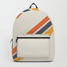 Classic Retro Stripes 03 Backpack