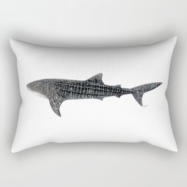 Whale shark Rhincodon typus Rectangular Pillow