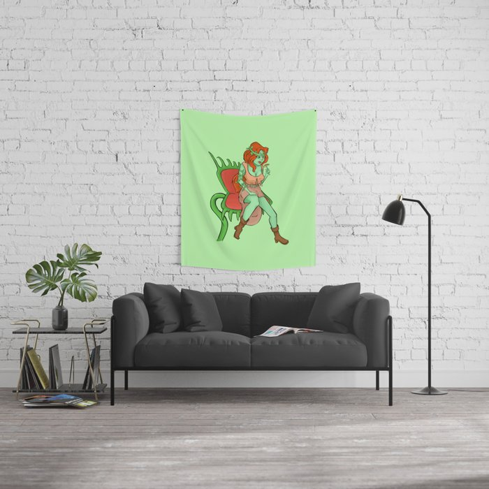 Hippy Ivy Wall Tapestry