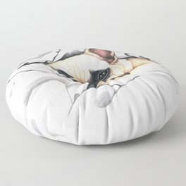 French Bulldog - F.I.P. - Miuda Frenchie Floor Pillow