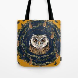 Woodland Owl Tote Bag