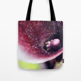 Dark Calla lily Tote Bag