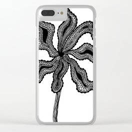Wanda Flower Clear iPhone Case