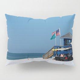 Siesta Key Lifeguard Station Pillow Sham