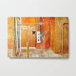 So many pipe dreams ... So little time Metal Print