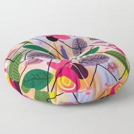 Yoga in the Park Floor Pillow