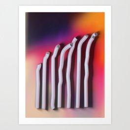 The Bends Art Print