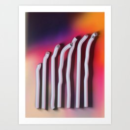 The Bends Art Print