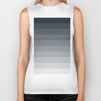gradient Biker Tanks featuring Gradient by Coconuts & Shrimps