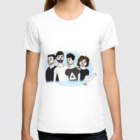 bastille T-shirts featuring Bastille v1 by Eriboo