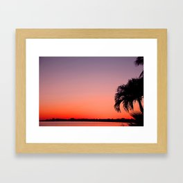 Twilight Metamorphosis Framed Art Print