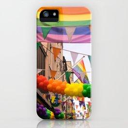 LGBT Pride Street Scene iPhone Case