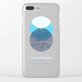 Eclipse II Clear iPhone Case