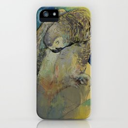 Grey Parrot iPhone Case