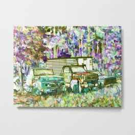 Lost To The Forest Metal Print
