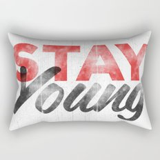 Stay Young Rectangular Pillow