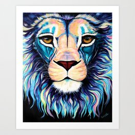 Lion by Ekaterina Art Print