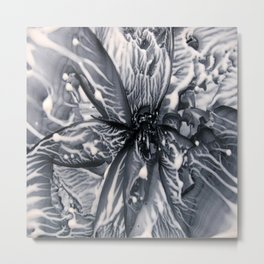Liquid Lace Metal Print