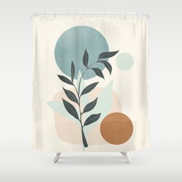 Azzurro Shapes No.53 Shower Curtain