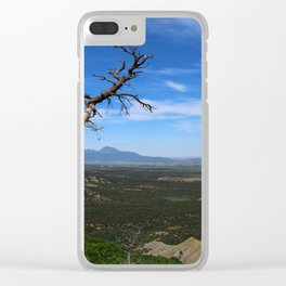 Overlooking The Valley Clear iPhone Case